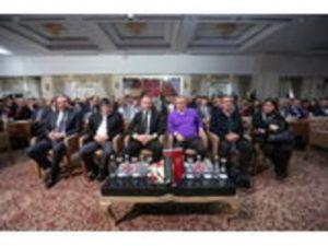 Fatih Terim, NG Kütahya Seramik Toplantısının Onur Konuğu Oldu