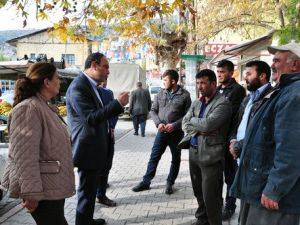 CHP Milletvekili Zülfikar İnönü Tümer, Karaisalıda Esnafı Ziyaret Etti