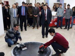Karabük Üniversitesi Japonyada Robotlu Sumo Güreşinde Dünya Birincisi Oldu