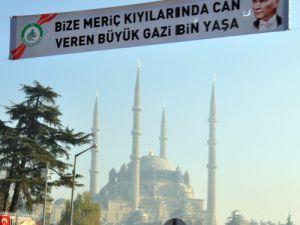Atatürkün Edirneye Gelişi Coşkuyla Kutlandı