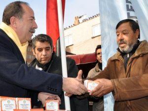 CHPli Başkan Kandil Simidi Dağıttı