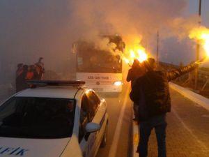 Galatasaray, Kastamonuda Coşkuyla Karşılandı