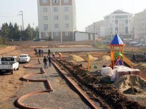 Çorluda Bir Park Daha Hizmete Giriyor