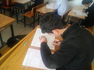Kahtada Öğrencilere Yönelik Kazanım Sınavı Düzenlendi