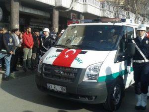 İtfaiye Aracının Çarpttığı Polis Memuru Elazığda Toprağa Verildi