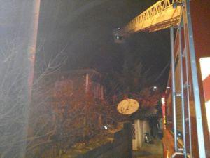 Pamukovada İki Katlı Ev Yandı