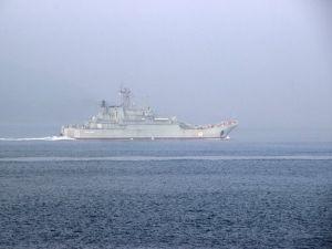 Çanakkale Boğazından Rus Askerî Gemileri Geçti