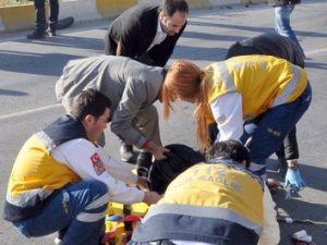 Yaya Şeridinde Kaza: 1 Ölü
