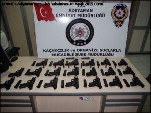 Adıyamanda Silah ve Uyuşturucu Operasyonu
