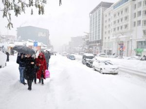 Muşta Kar Yağışı Sonrası Köy Yolları Ulaşıma Kapandı