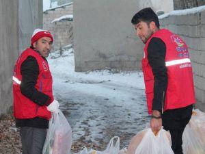 Ghsimden Suriyeli Ailelere Yardım