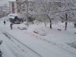 Bartında 45 Köy Kardan Ulaşıma Kapandı