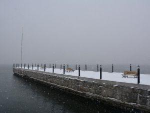Bitliste Kartpostallık Kar Görüntüleri