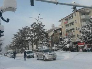 Tatvanda Kar Yağışı Hayatı Olumsuz Etkiledi
