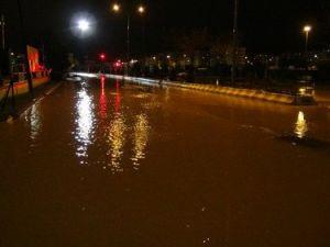 Çanakkalede Şiddetli Yağmur Etkili Oldu