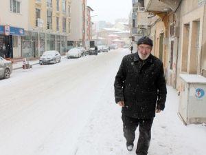 -25i Gören Bayburtta Kar Yağışı Sonrası Hava Yumuşadı