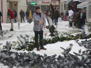 Çorumda 82 Köy Yolu Kapandı, Okullar 1 Gün Kar Tatil Edildi