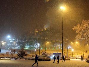 Kahramanmaraşta Kar Yağışı Etkili Oluyor