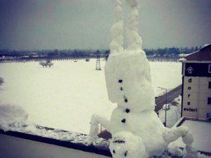 Kahtada Okullara Kar Tatili