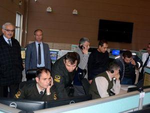 Muğla 112 Acil Çağrı Merkezine Jandarma Komutanlığı da Dahil Edildi