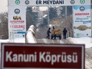 Edirne Kar Altında Başka Güzel
