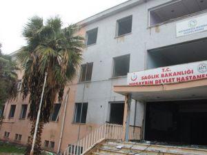Nusaybinde ESKİ Devlet Hastanesini Yakmak İstediler