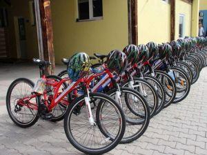 Bisiklet Yolu Bulunmayan Çankırıda 200 Bisiklet Dağıtıldı