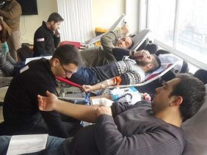 Elazığ Ülkü Ocaklarından Kan Bağışı Programı