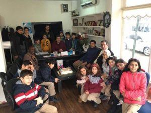 Özel İrfanlı Öğrencilerinden Gazetecilere Anlamlı Ziyaret