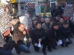 Ankarada Patlamada Ölenler Üçüncü Ayında Elazığda Anıldı