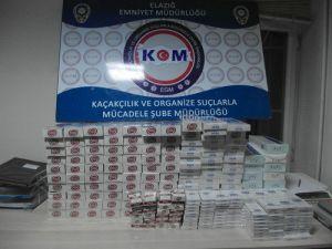 24 Bin 546 Paket Kaçak Sigara Ele Geçirildi