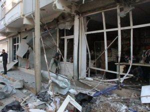 Nusaybinde Zırhlı Polis Aracının Geçişi Sırasında Patlama