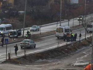 Kazaların Sıklıkla Meydana Geldiği Yola Vatandaşlardan Tepki