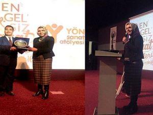 Bitlis Belediyesi Eş Başkanı Dağkırana Ödül