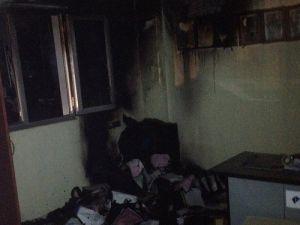 Nusaybinde Oto Gaz Dolum İstasyonunda Yangın