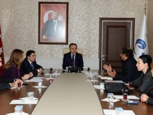 Tanap Projesi Bilgilendirme Toplantısı Erzurumda Yapıldı
