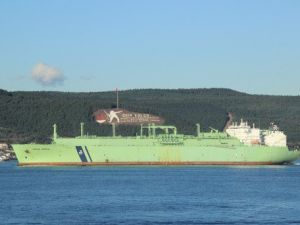 LNG Tankeri Geçişinde Çanakkale Boğazı Trafiğe Kapatıldı