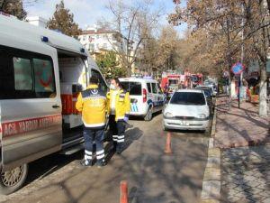 Çankırıda Yangın: 3 Kişi Hastaneye Kaldırıldı