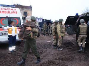 Surda Mahsur Kalan Yaşlı Çifti Jandarma Kurtardı