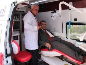 Mobil Ağız ve Diş Sağlığı Ekibi Kırsalda Hizmet Verecek