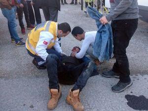 Edirnede Trafik Kazası: 1 Yaralı
