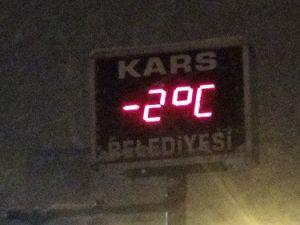 Karsta Kar Yağışı