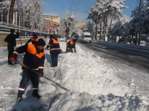 Bitliste Kar Yağışı Yeniden Başladı