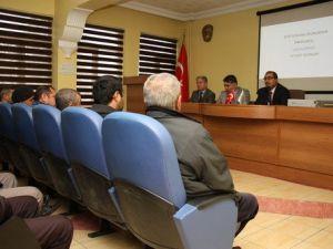 Bitki Koruma Ürünü Uygulama Yetki Belgesi Eğitim Toplantısı Yapıldı