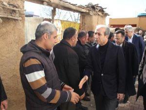 Bakan Tüfenkci, Çınardaki Patlamada Hayatını Kaybedenlerin Taziyesine Katıldı