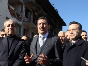Bakan Tüfenkci: Çınardaki Patlama İnsanlığa Karşı Bir Eylem Olarak Tarihe Geçti