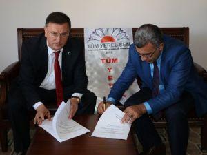 Hatay Büyükşehir Belediyesinde Sosyal Denge Sözleşmesi İmzalandı