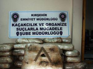 Kırşehirde 297 Kilo Esrar Maddesi Ele Geçirildi