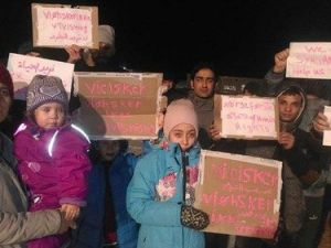 Norveçe Sığınan Suriyeliler Ölüm Orucunda