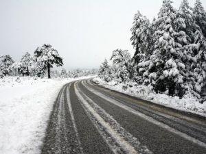 Muğlada Kar Yağışı Etkili Oluyor